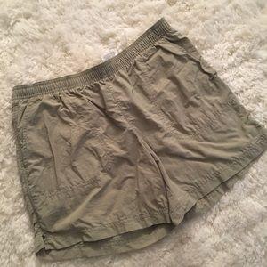 Tan Columbia Women's Sandy River Shorts Size Small